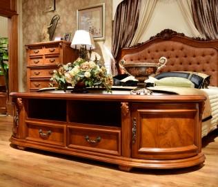 伯爵庄园,电视柜,实木家具