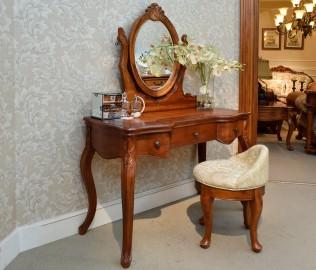 伯爵庄园,妆凳,实木家具