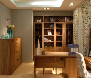 百强家具,四门书柜,书柜