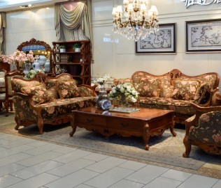 伯爵庄园,沙发,实木家具
