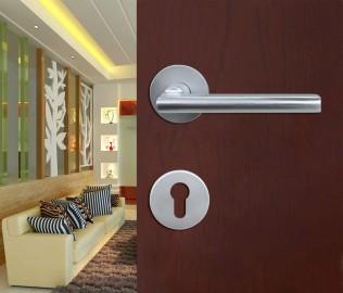 安恒五金,铝合金锁,分体门锁