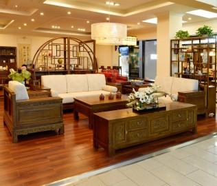 瀚明轩,沙发,榆木家具