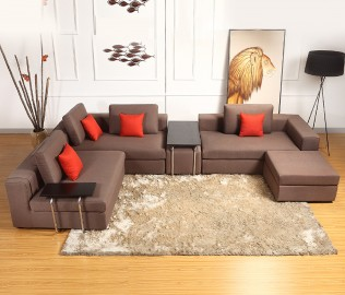 曲美家具,组合沙发,沙发