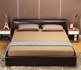 曲美家具,床,双人床