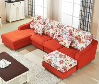 东方百盛,客厅家具,布艺沙发