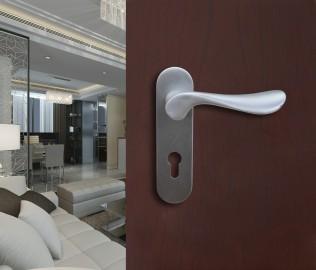安恒五金,铝合金锁,一体门锁
