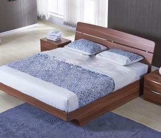 东方百盛,板式家具,双人床