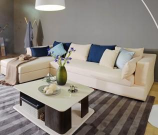 曲美家具,转角沙发,沙发