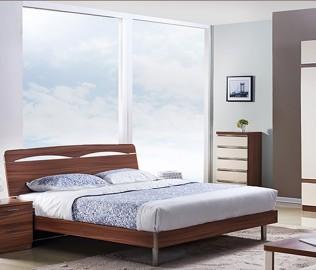 东方百盛,板式家具,床架