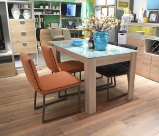 飞美家具,餐椅,靠背椅