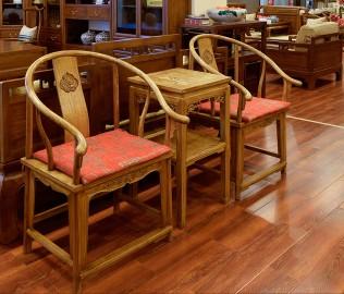 瀚明轩,椅子,榆木