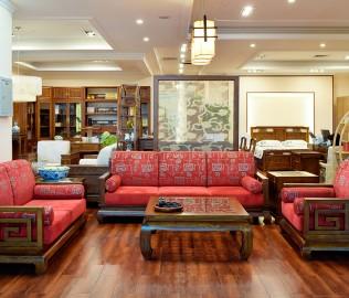 瀚明轩,沙发,实木