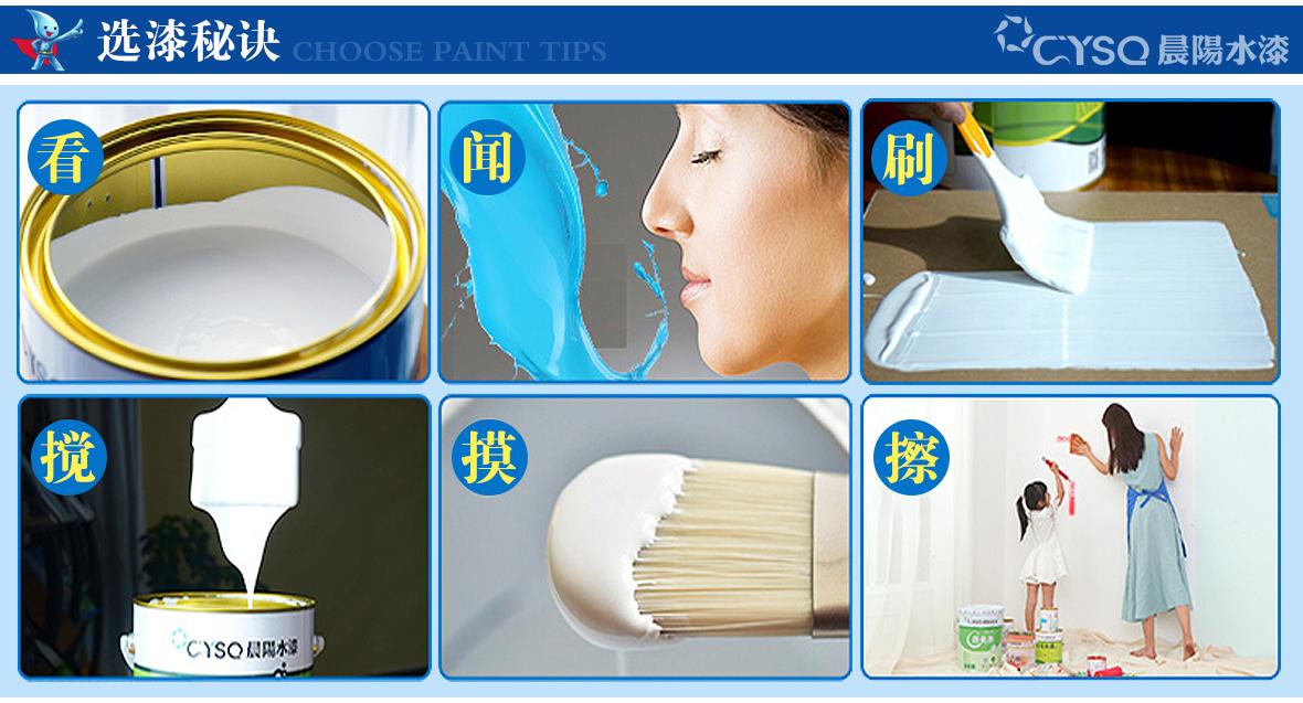 晨阳水漆海之吻多功能水性暖气片专用漆800g商品选漆秘诀