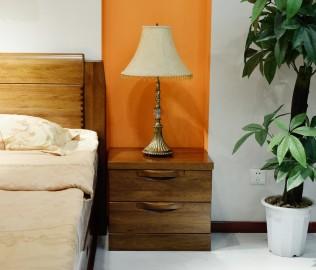 摩纳戈,床头柜,实木家具