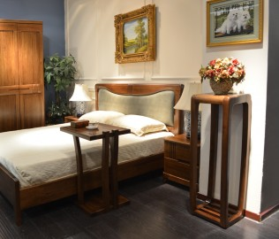 摩纳戈,花架,实木家具