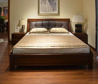 绿芝岛,床头柜,红橡木