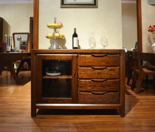 绿芝岛,实木柜,餐边柜