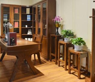 绿芝岛,花架,实木家具