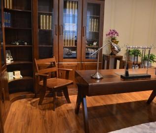 绿芝岛,实木家具,转椅