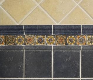 马可波罗,腰线瓷砖,花角砖
