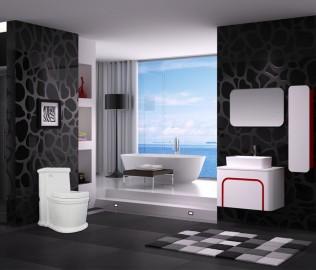 恒洁卫浴,座便器,马桶