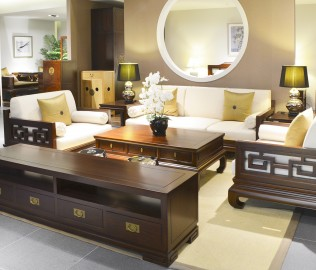 祥华坊,实木家具,沙发