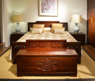 祥华坊,樟木坐柜,实木家具