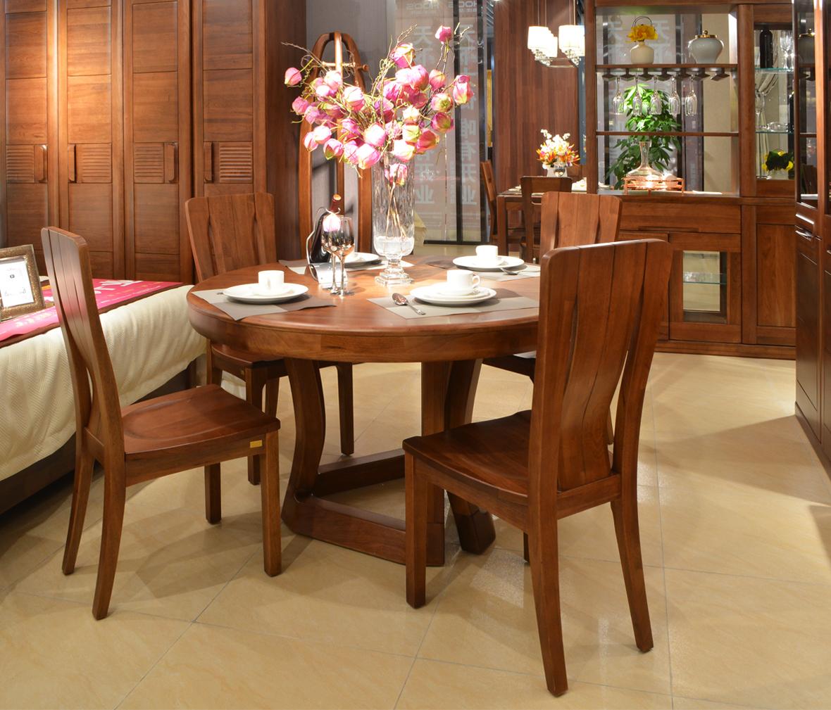 6霸王枨餐桌 ye001型号 榆木材质 中式古典风格   眼缘:2  天坛家具