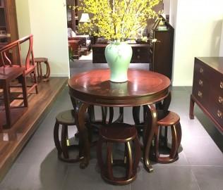 祥华坊,坐墩,实木家具