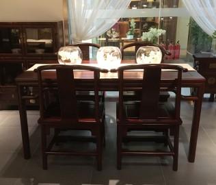 祥华坊,餐桌,实木家具