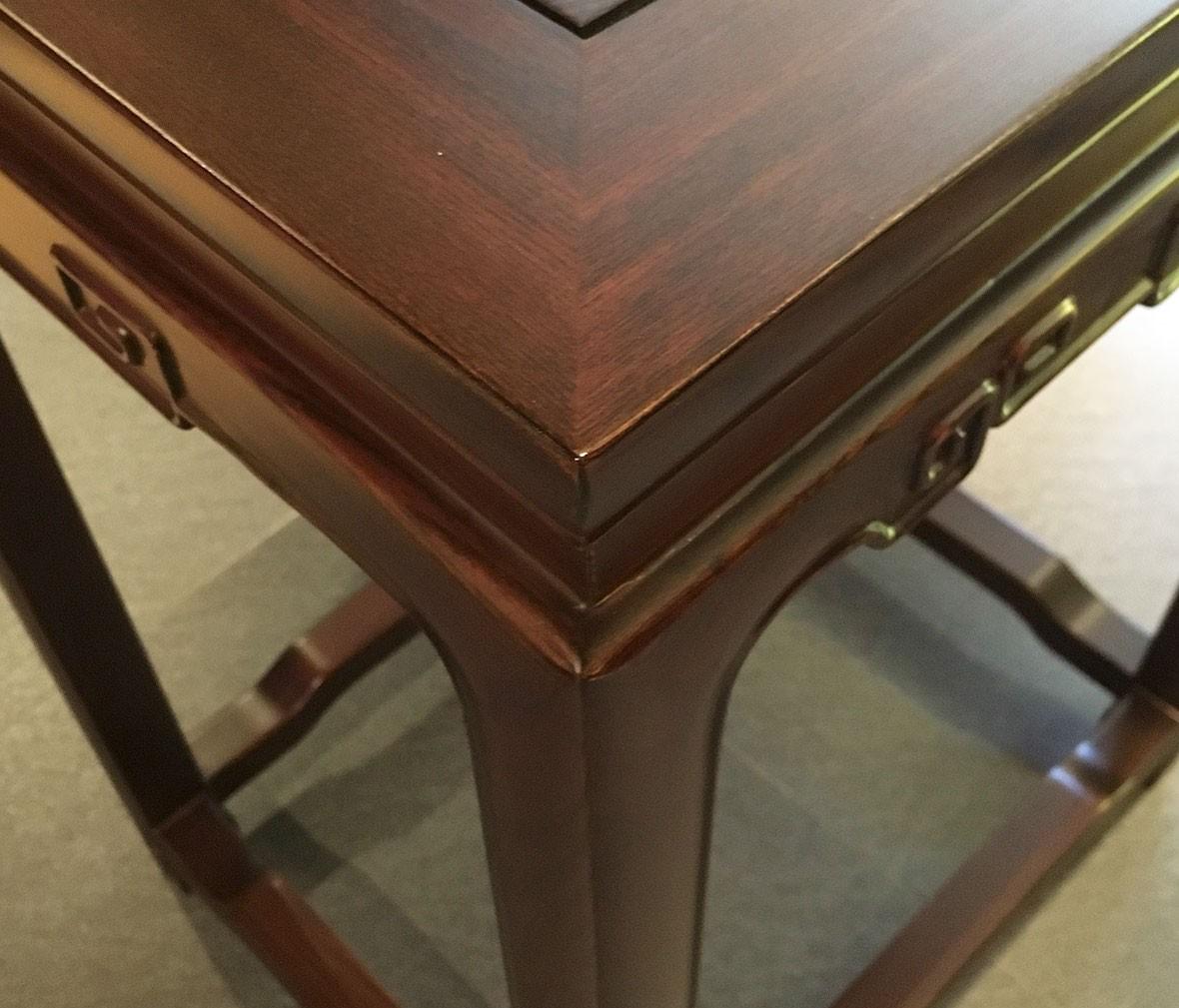 祥华坊家具 XJD-ZJ02814型号束腰回纹茶几 中式古典实木家具