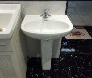 恒洁卫浴,柱盆,洗脸盆