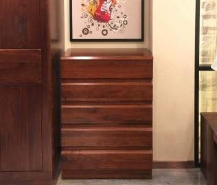 江南宜家,五斗柜,实木家具