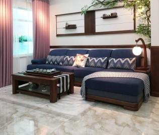 双叶家具,实木茶几,客厅家具
