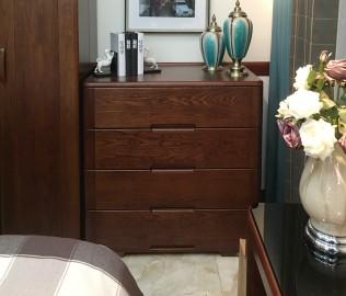 双叶家具,四屉柜,实木家具