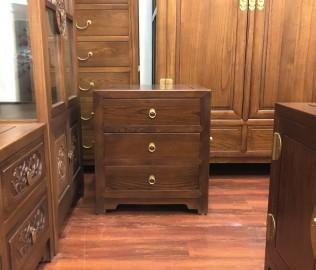 瀚明轩,床尾柜,实木家具