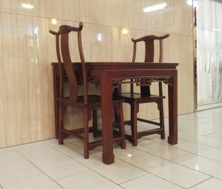 瀚明轩,方桌,实木家具