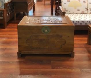 瀚明轩,樟木箱中,实木家具