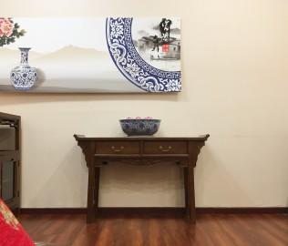 瀚明轩,玄关,实木家具