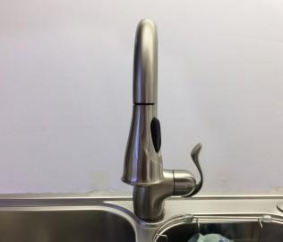 摩恩卫浴,厨房龙头,单把单孔