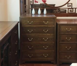瀚明轩,五屉柜,实木家具