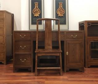 瀚明轩,电脑桌,实木家具