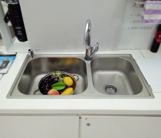 摩恩,厨盆,水槽