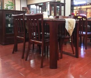 大连华丰,餐桌,实木家具
