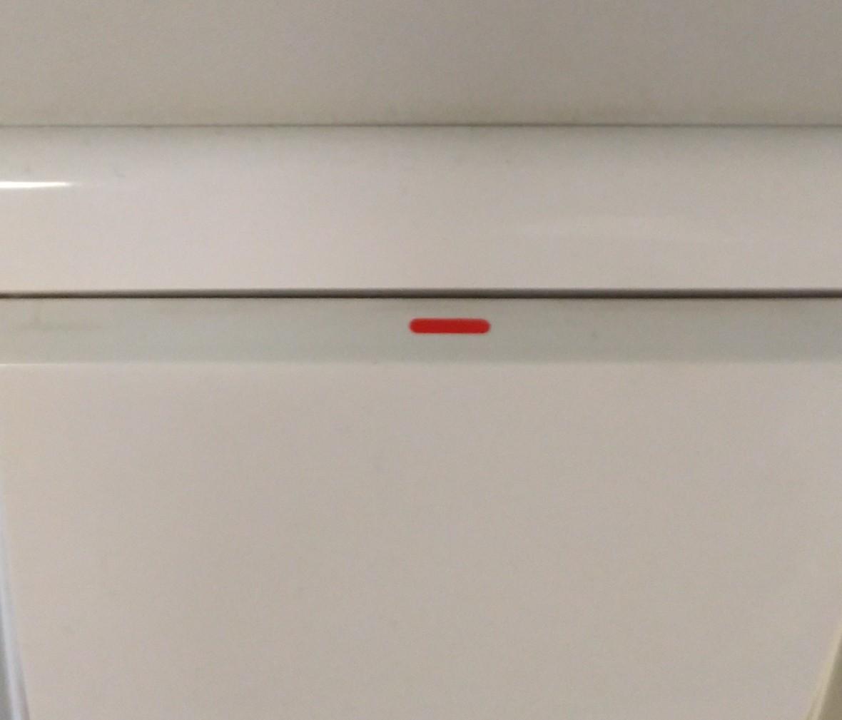 松下灯饰 佳典纯系列 单开开关 耐高温 防漏电 PC材质 细节
