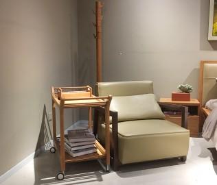 曲美家具,沙发,单人沙发