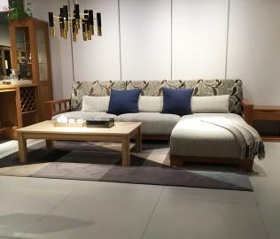 曲美家具,沙发,三人沙发