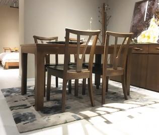 曲美家具,餐椅,椅子