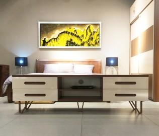 曲美家具,电视柜,板材柜