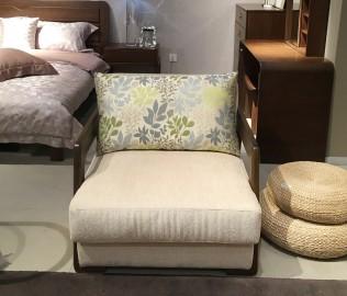 曲美家具,单人沙发,沙发